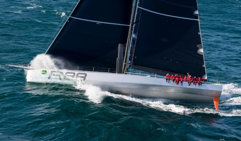 Will Rambler 88 score the elusive double (line and overall corrected time honours) or achieve her third line honours on the new 695 nm course in this August's Rolex Fastnet Race?