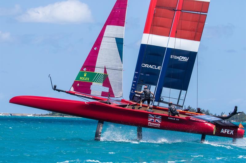 Bermuda SailGP presented by Hamilton Princess