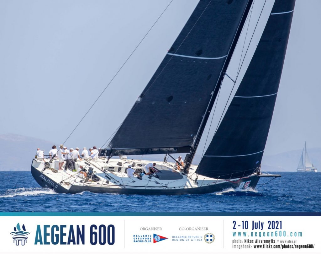 Yacht racing as part of the event