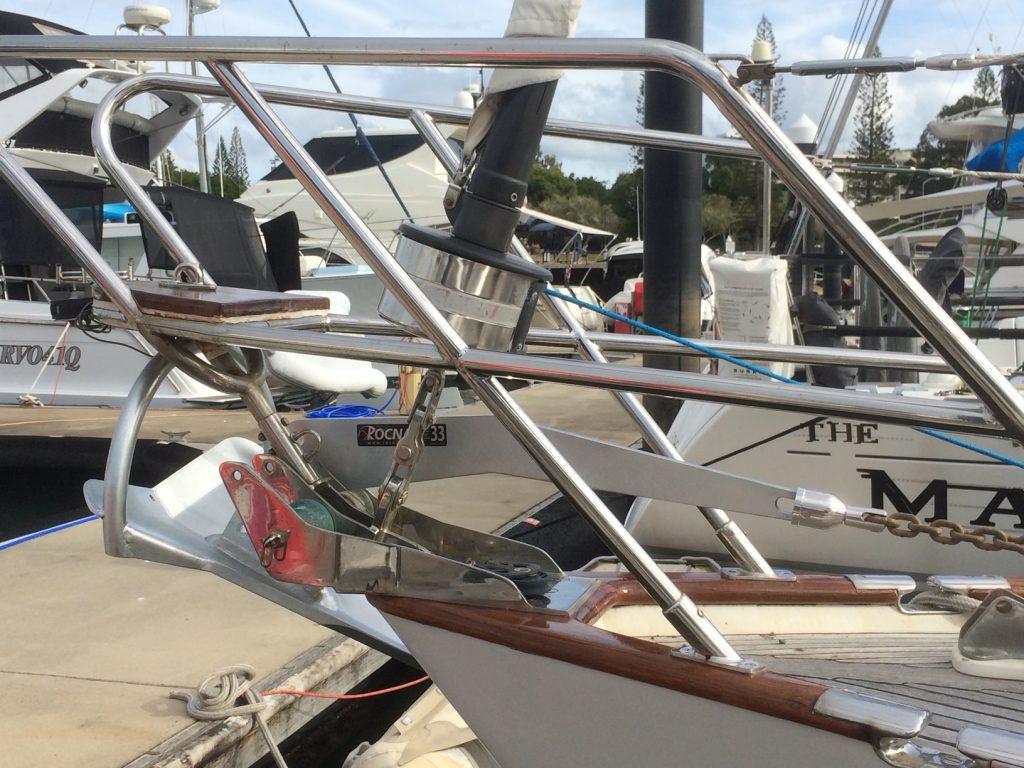 Swivel on an anchor