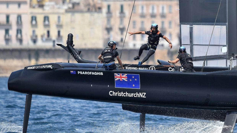 SailGP Team Zew Zealand sailing