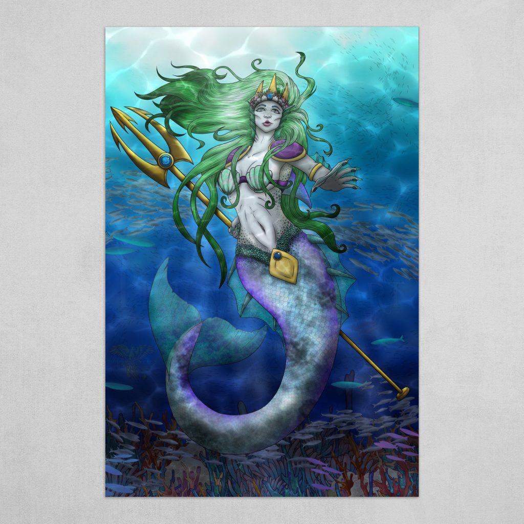 Sea God Amphitrite