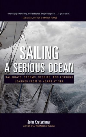 The cover of the book - Sailing A Serious Ocean