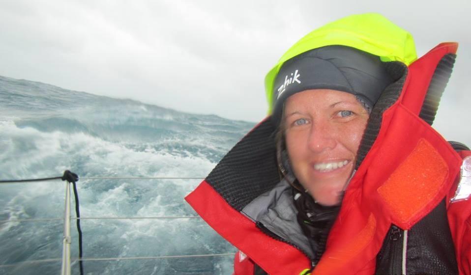 Lisa offshore selfie