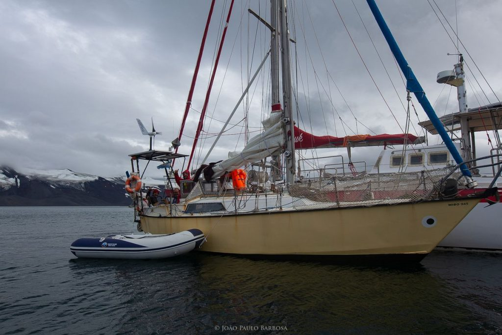4,000-mile voyage in Pequod, a restored 28-ft steel-hull sailboat