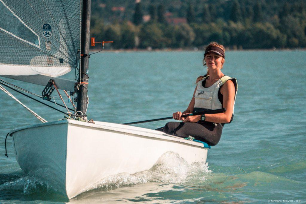 Female sailor Noémi Rátosi