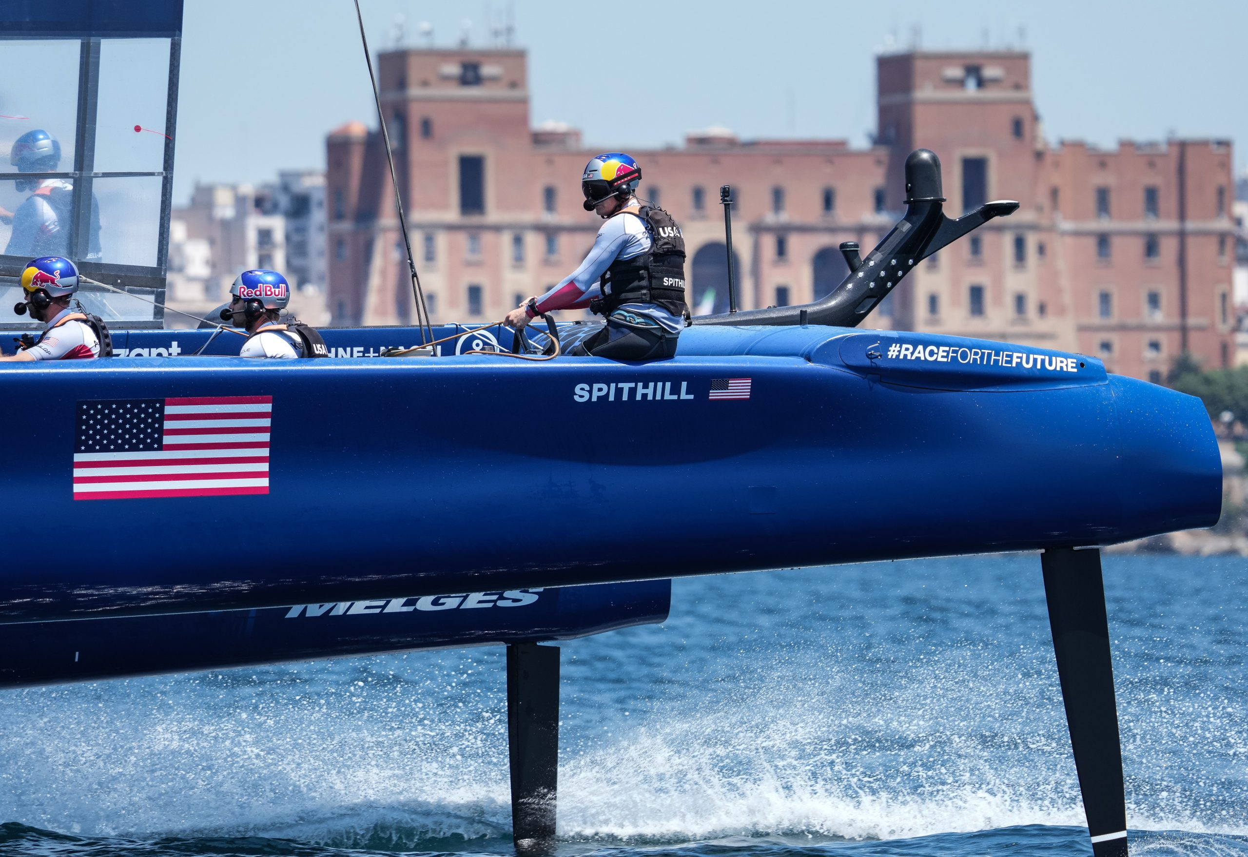 Team USA skippered by Spithill