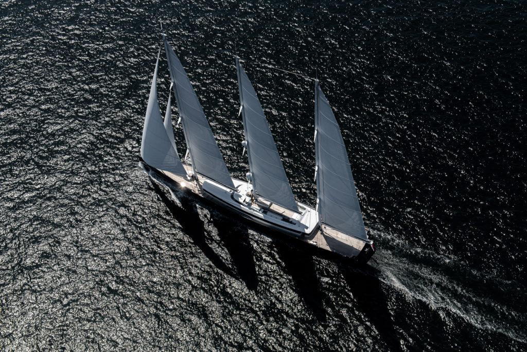 The 81 metre Sail Yacht, SEA EAGLE II
