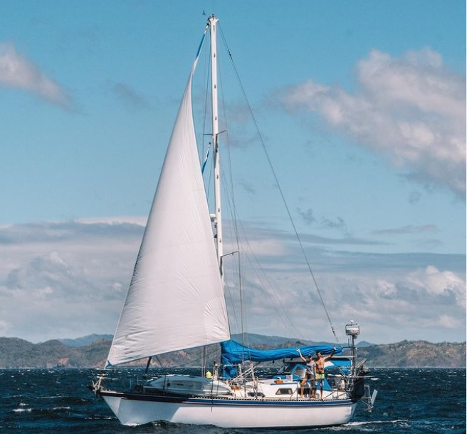 The yacht Agape is Tayana 42.