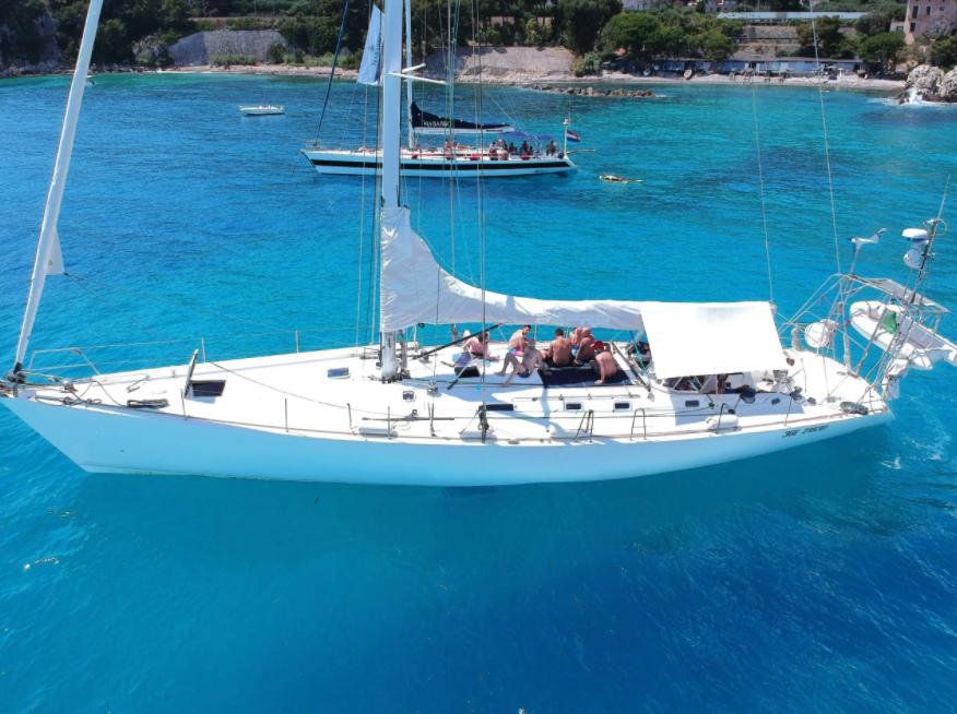 Tosetti will train on his yacht ASPRA