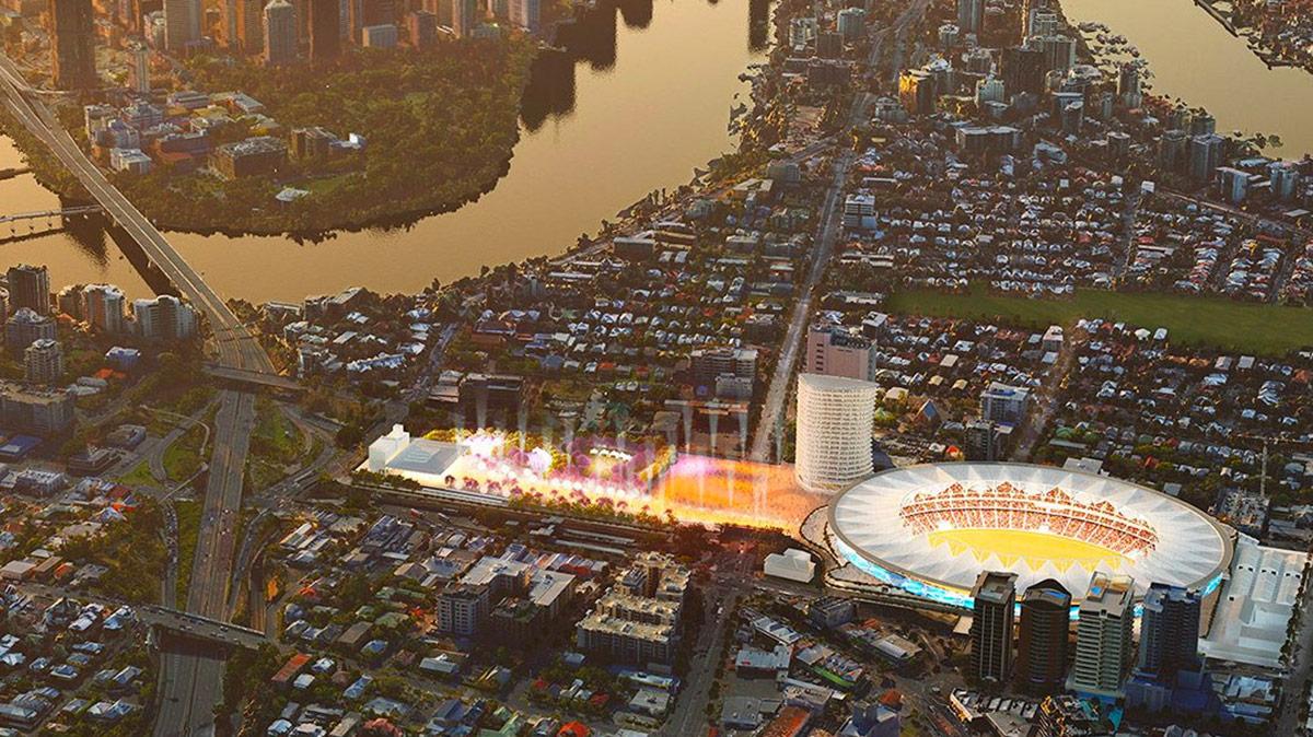 Olympic Stadium Brisbane
