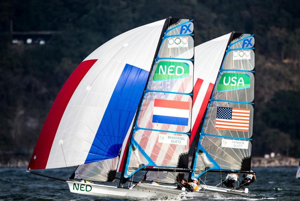 NED 49erFX and USA 49erFX
