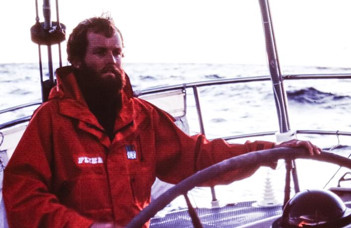 Onne van der Wal sailing