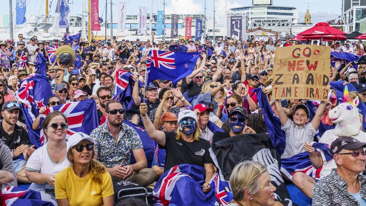 America's Cup fans soaked up Team New Zealand's triumph at the 36th America's Cup in Auckland.