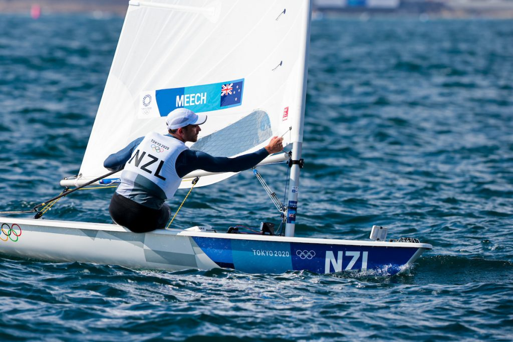 Sam Meech (NZL) sailing