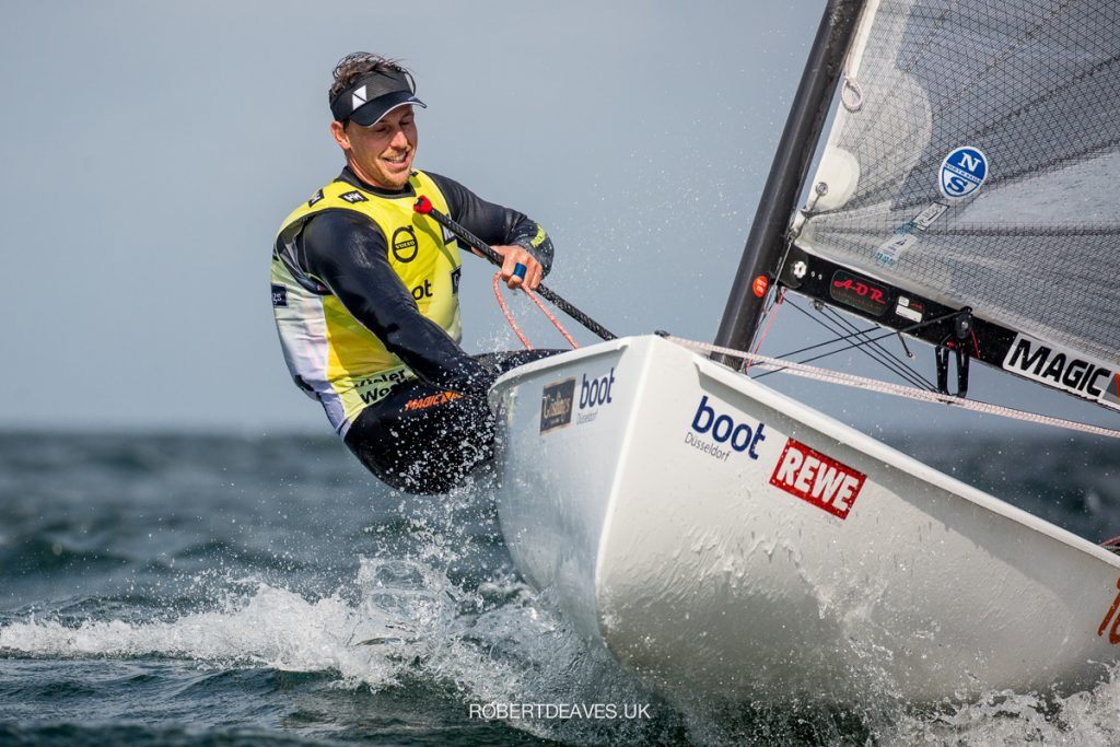 Nicholas Heiner (NED) sailing