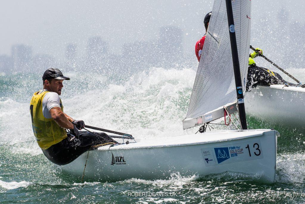 Josh Junior (NZL) 2019 Finn Gold Cup - Melbourne, Australia