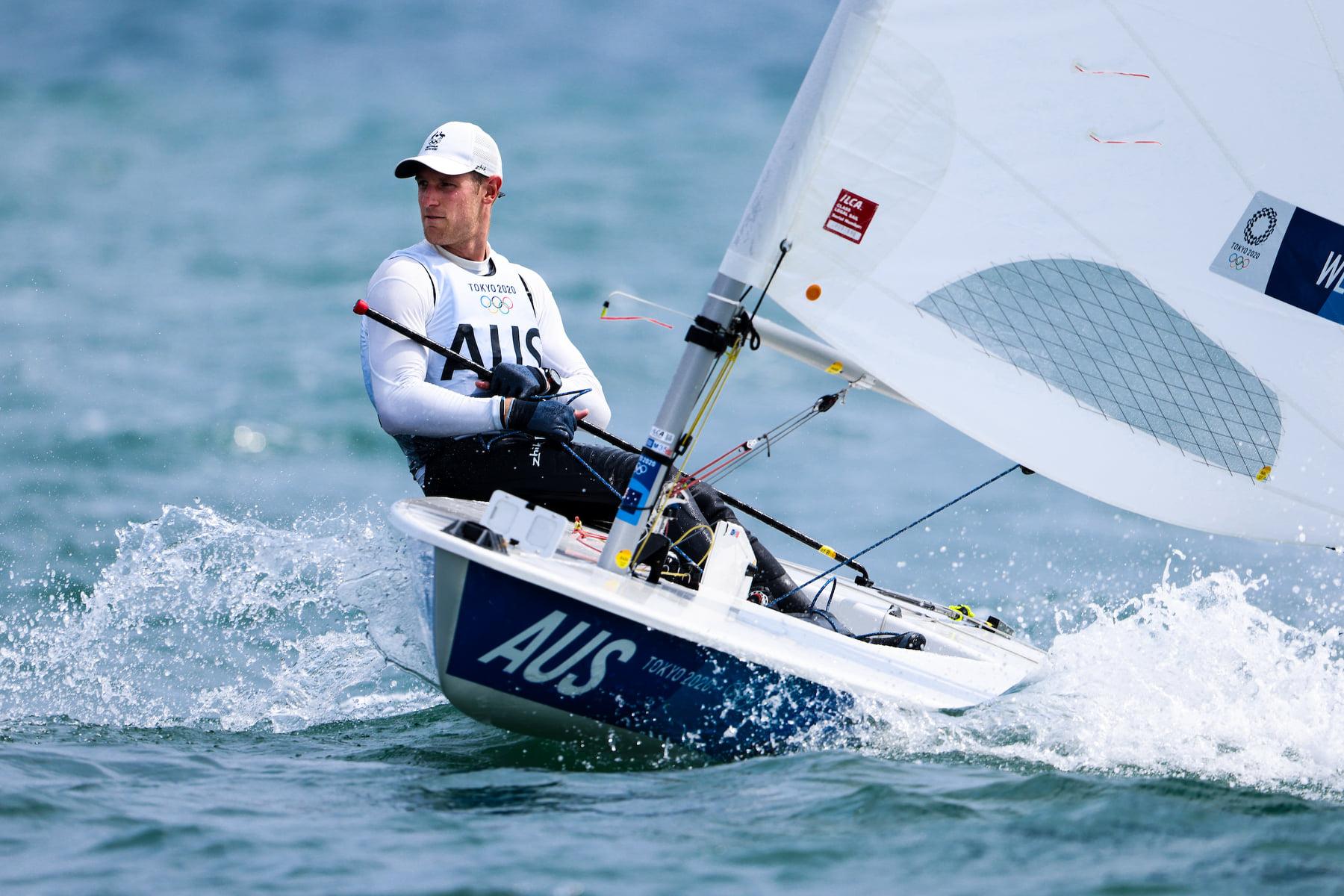 Perth sailor Matt Wearn