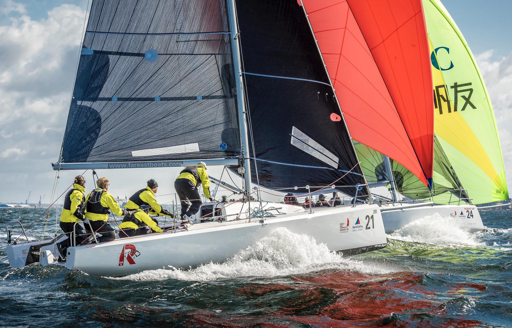 Match racing boats