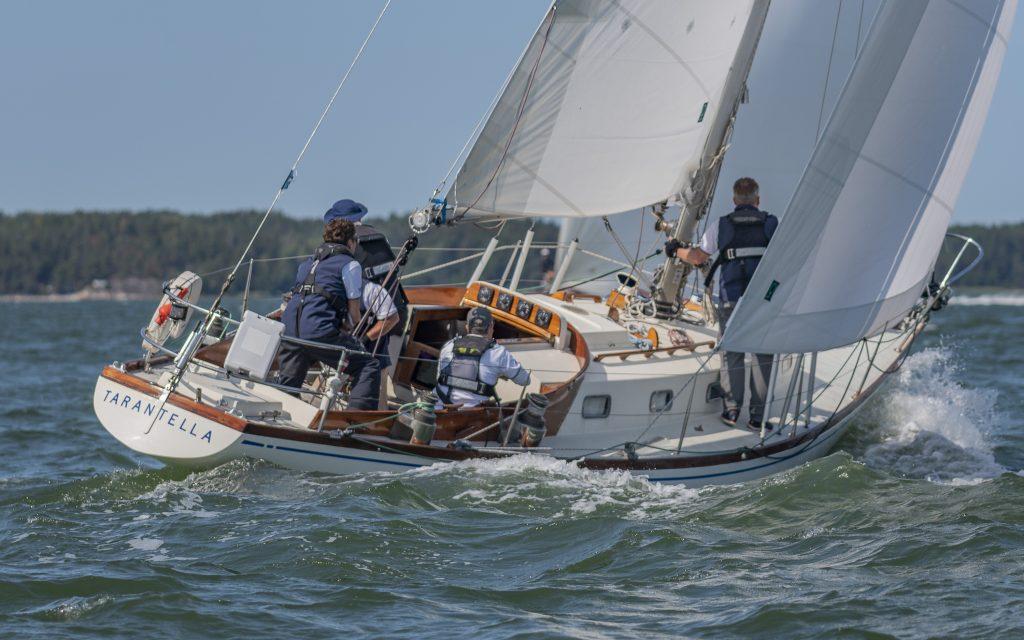 The Swan 37 Tarantella II sailing
