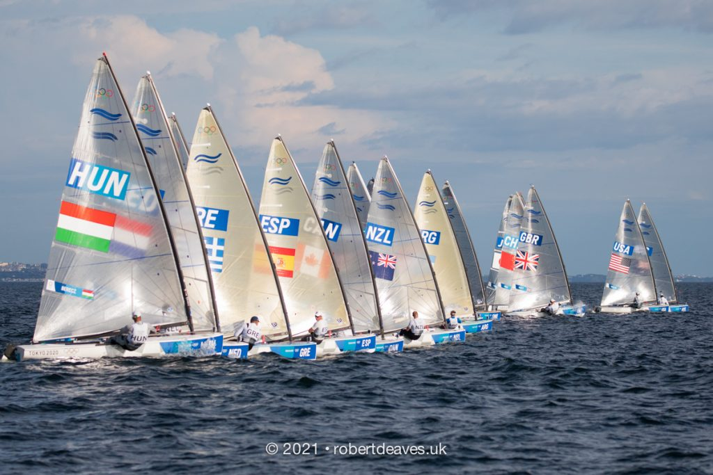 Start of Finn race 2