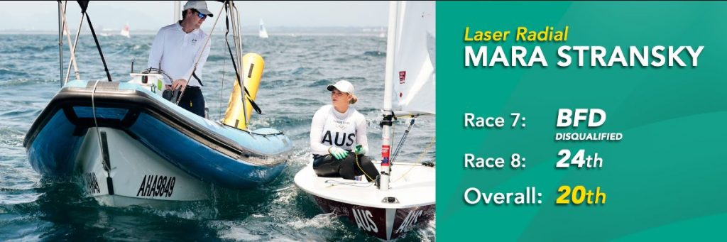 Mara Stransky 20th overall Laser Radial