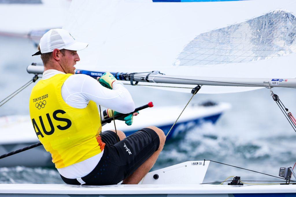 Matt Wearn sailing