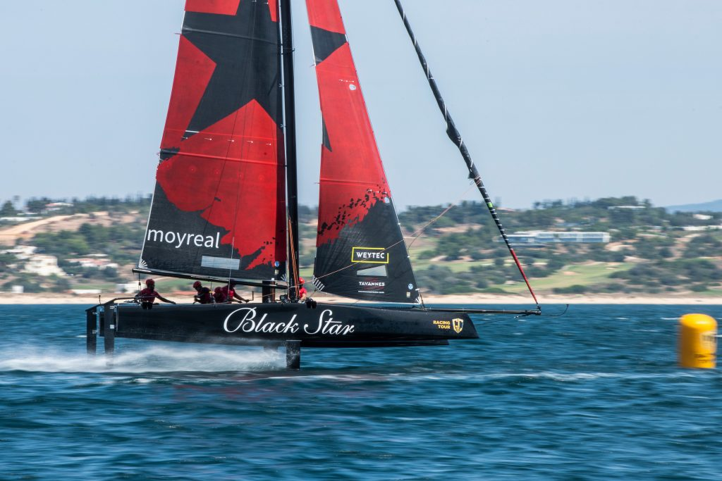 Black Star Sailing Team sailing