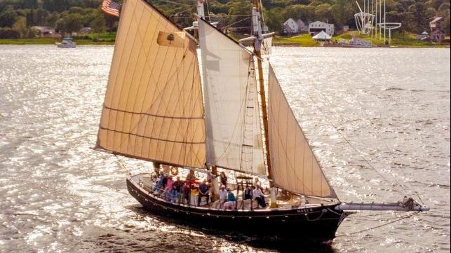 Historical schooner
