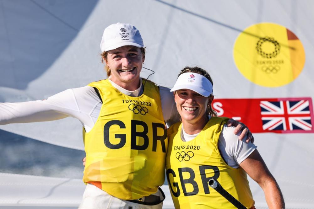 Gold Medal 470 - Hannah Mills and Eilidh McIntyre (GBR)