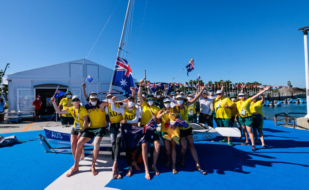 Australian Sailing Team group photo