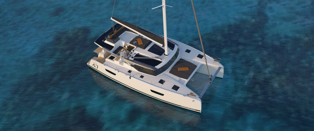 Fountaine Pajot has unveiled its latest sailing catamaran model, the Tanna 47.