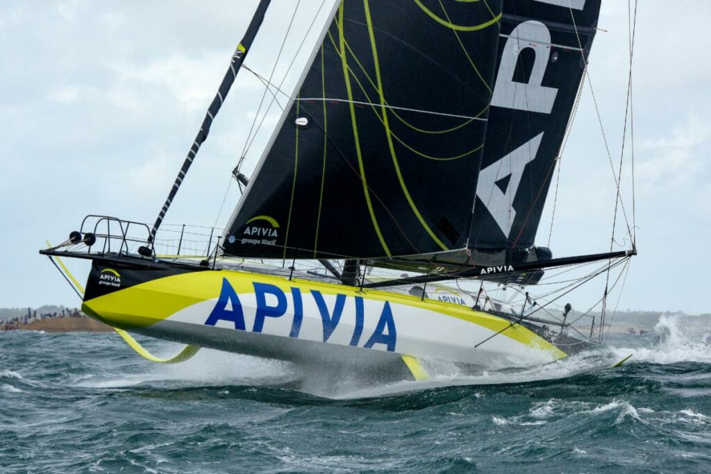 Charlie Dalin and Paul Meilhat on the IMOCA Apivia