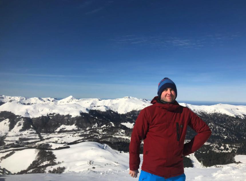 William Croxford at ski fields