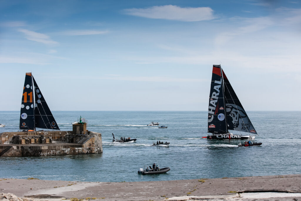 A close finish for IMOCA's - 11th Hour Racing and Charal.