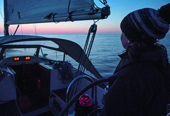 Night-time sailing