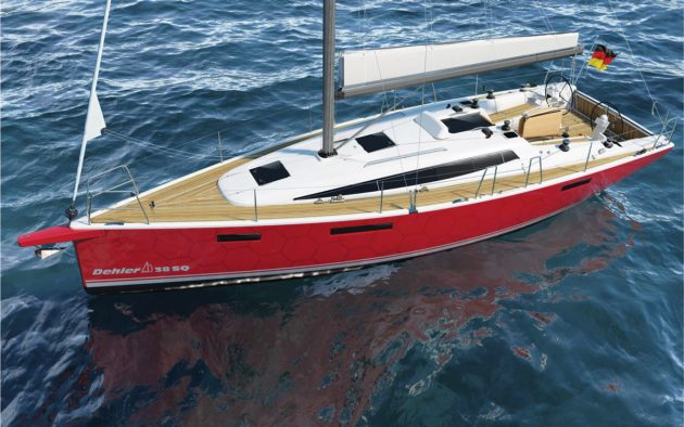 The Dehler 38SQ is due to make its Southampton Boat Show debut in September 2021.