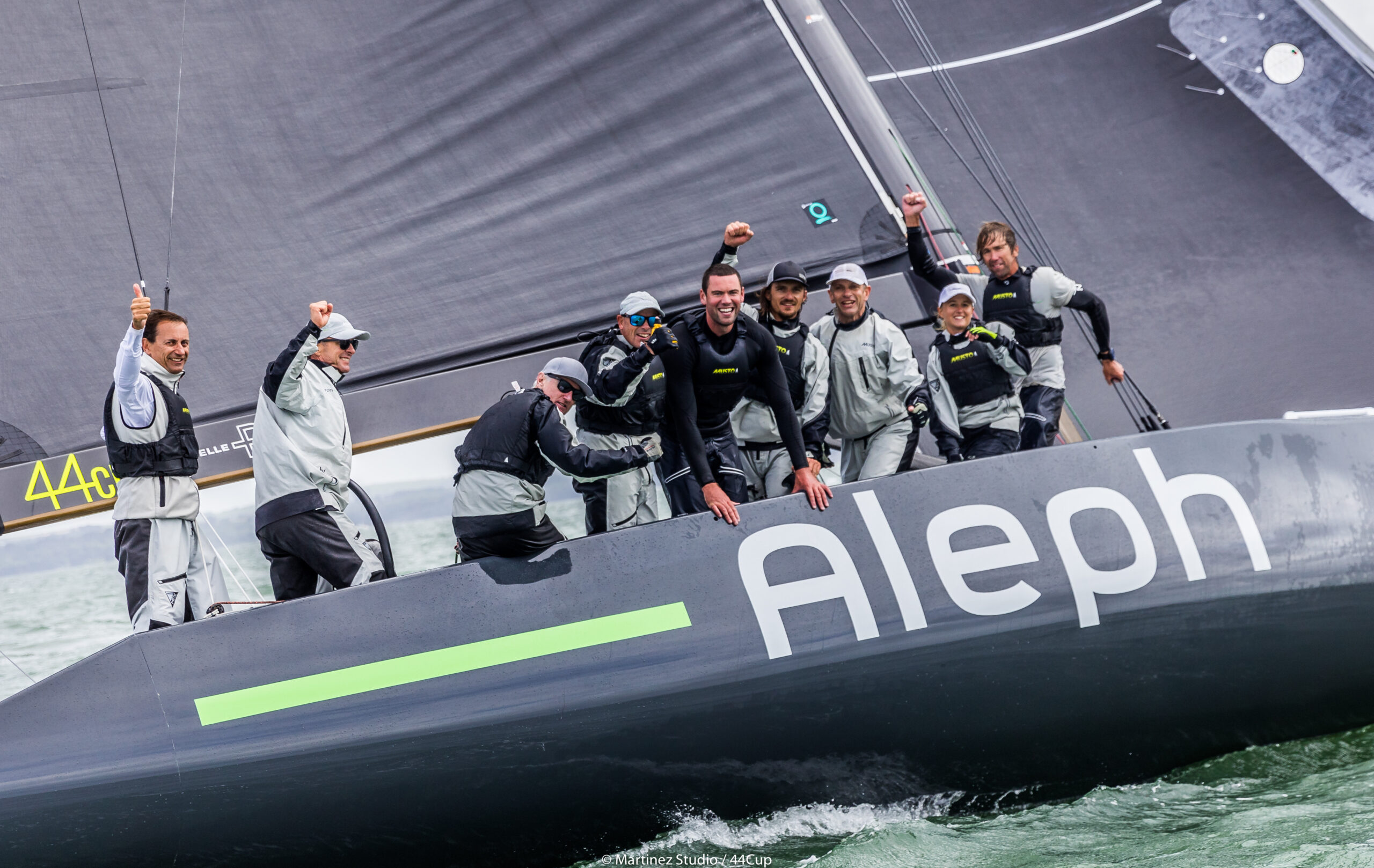 Aleph Racing celebrate their win