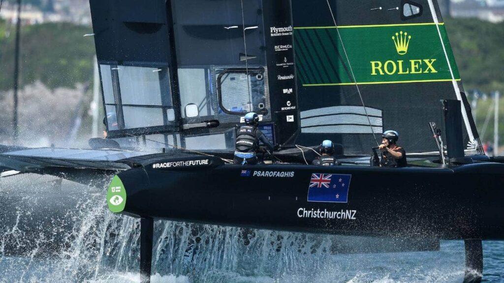 SailGP New Zealand Team sailing