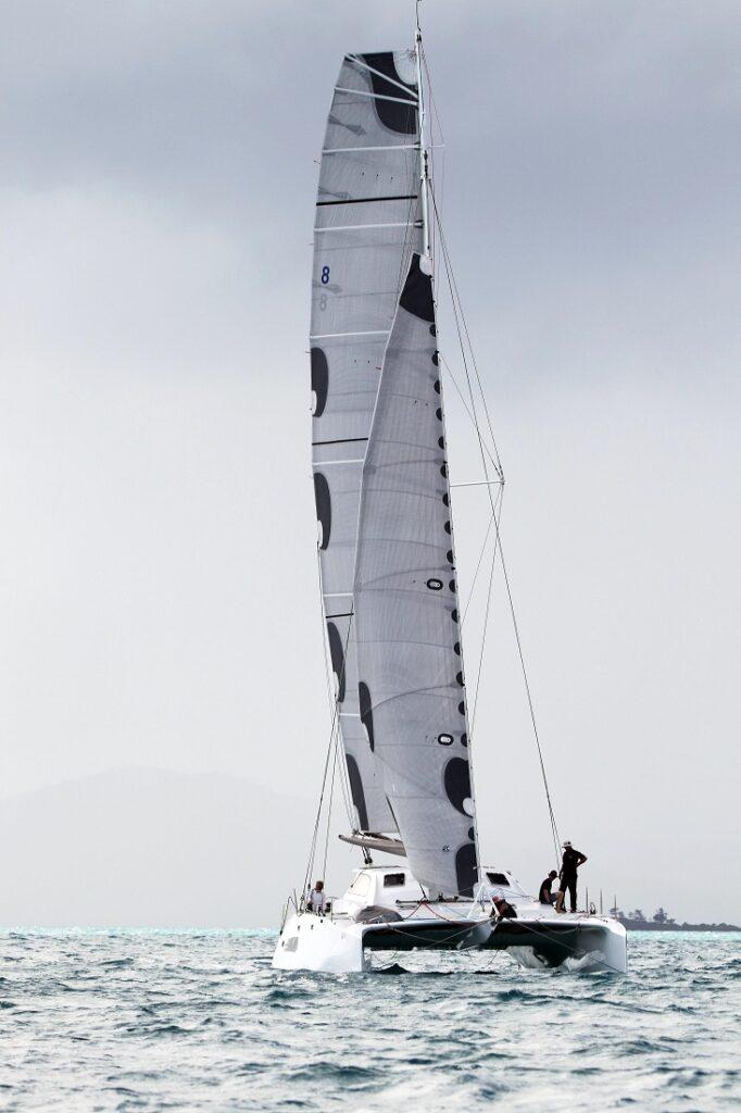 Rushour sailing upwind
