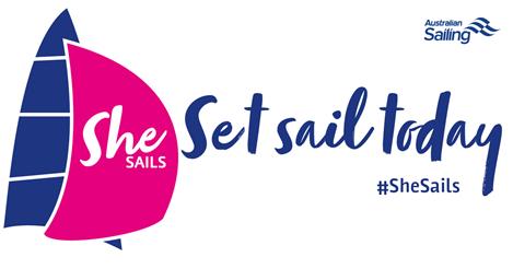 SheSails/Australian Sailing poster