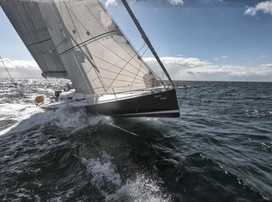 Amaury de Jamblinne's 2008 Pogo 40 yacht - Black Peal.