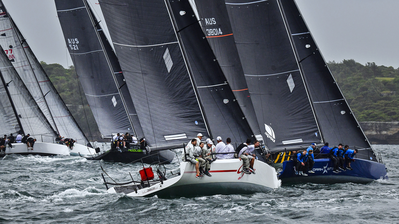 Act 1 with a packed fleet. Image courtesy Marg-Fraser-Martin