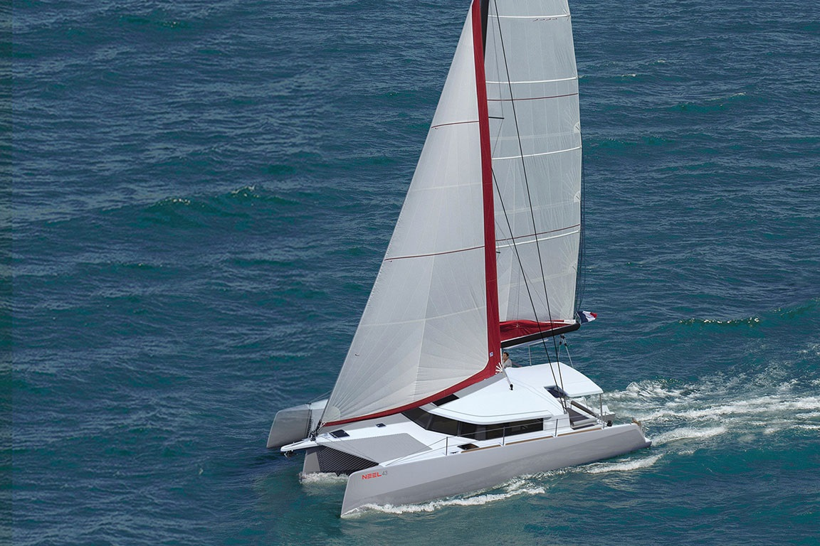 Neel 43 coming to Australia from Multihull Solutions