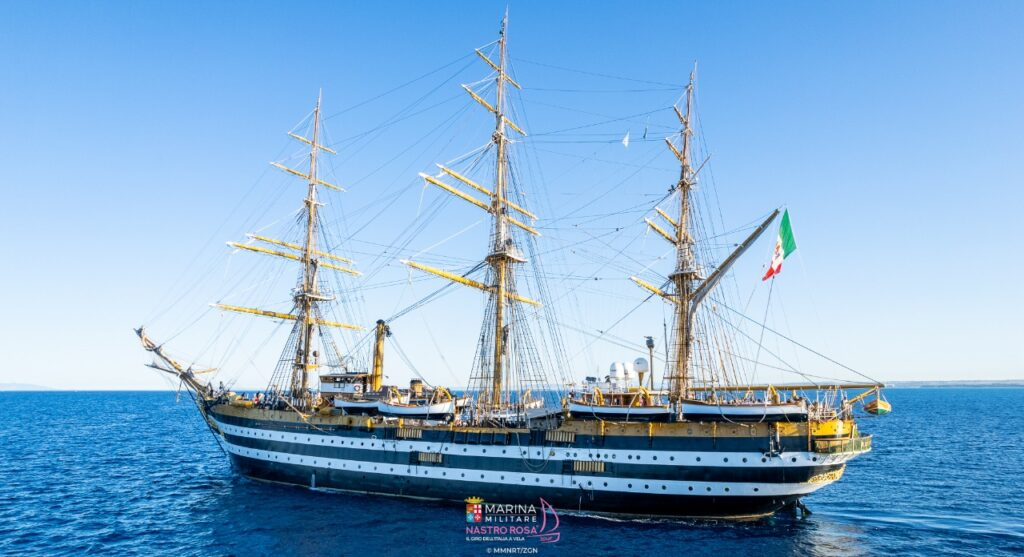 Sailing yacht / square rigger - TheVespucci