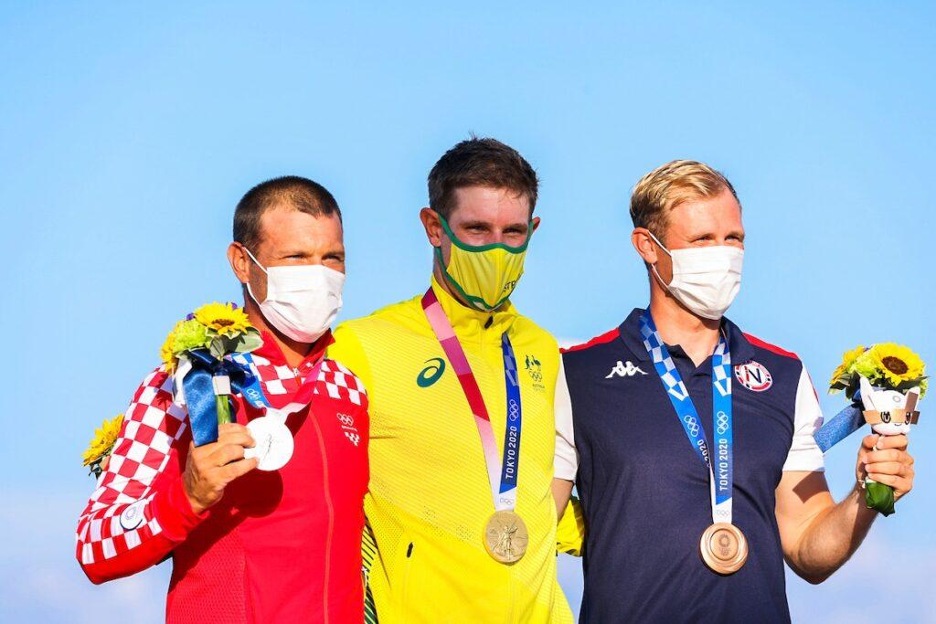Tonči Stipanović (CRO), Matt Wearn and Hermann Tomasgaard (NOR).
