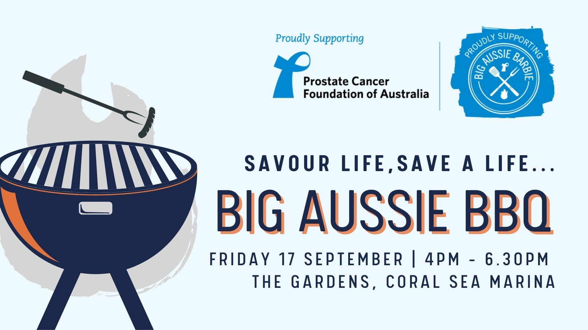 Big Aussie BBQ poster