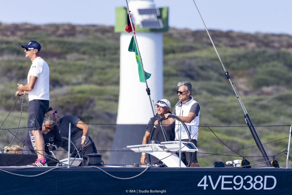 Aldo Parisotto steering Oscar 3