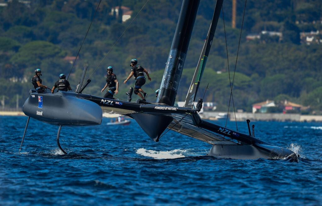 Team NZ sailing, healing.
