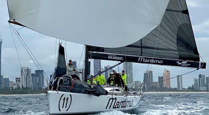 Maritimo on kite run.